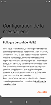 Samsung Galaxy J4 Plus - E-mail - Configurer l