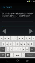 Sony Xperia M2 - apps - account instellen - stap 6