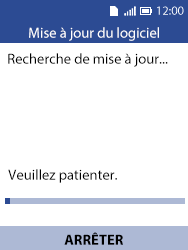 Alcatel 3088X - Aller plus loin - Mettre à jour le logiciel interne de votre mobile - Étape 6