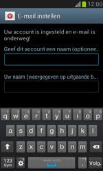 Samsung I8190 Galaxy S III Mini - E-mail - Account instellen (IMAP zonder SMTP-verificatie) - Stap 15