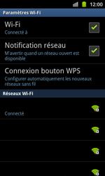 Samsung I8530 Galaxy Beam - Wifi - configuration manuelle - Étape 8
