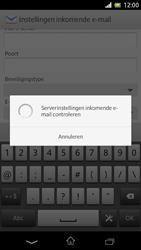 Sony C5503 Xperia ZR - e-mail - handmatig instellen - stap 12