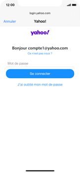Apple iPhone 11 Pro - E-mail - 032b. Email wizard - Yahoo - Étape 7