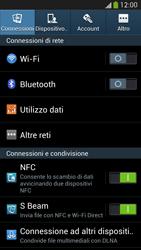 Samsung Galaxy S 4 Active - Internet e roaming dati - Disattivazione del roaming dati - Fase 4