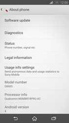 Sony Xperia Z3 - Software - Installing software updates - Step 6