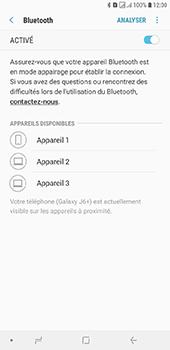 Samsung Galaxy J6 Plus - Internet et connexion - Connexion avec un équipement multimédia via Bluetooth - Étape 9