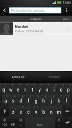 HTC One - Contact, Appels, SMS/MMS - Envoyer un MMS - Étape 5