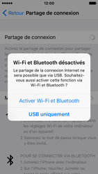 Apple iPhone SE - Internet et connexion - Utiliser le mode modem par USB - Étape 7