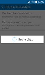 Samsung J100H Galaxy J1 - Réseau - Sélection manuelle du réseau - Étape 8