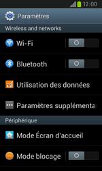 Samsung I9105P Galaxy S II Plus - Internet - configuration manuelle - Étape 5