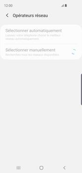 Samsung Galaxy S10e - Réseau - Sélection manuelle du réseau - Étape 9