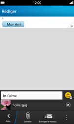 BlackBerry Z10 - Contact, Appels, SMS/MMS - Envoyer un MMS - Étape 13
