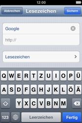 Apple iPhone 4 - Internet und Datenroaming - Verwenden des Internets - Schritt 6