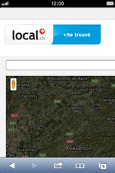 Apple iPhone 4S - Internet et roaming de données - Navigation sur Internet - Étape 8
