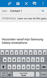 Samsung Galaxy Xcover 3 (SM-G388F) - E-mail - Hoe te versturen - Stap 9