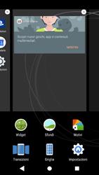 Sony Xperia XZ1 - Operazioni iniziali - Installazione di widget e applicazioni nella schermata iniziale - Fase 4