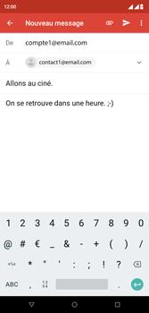 Wiko View 2 Plus - E-mail - envoyer un e-mail - Étape 8