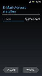 Sony Xperia U - Apps - Einrichten des App Stores - Schritt 6