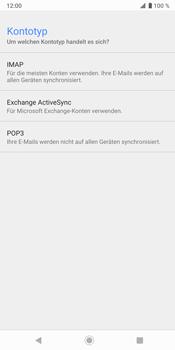 Sony Xperia XZ3 - E-Mail - Konto einrichten - Schritt 10