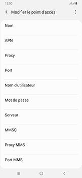 Samsung Galaxy A50 - Internet - configuration manuelle - Étape 13
