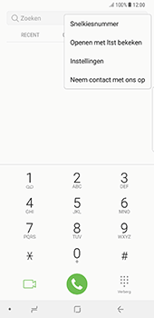 Samsung Galaxy Note 8 (SM-N950F) - Voicemail - Handmatig instellen - Stap 5