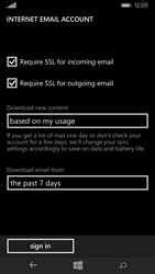 Microsoft Lumia 535 - Email - Manual configuration POP3 with SMTP verification - Step 19