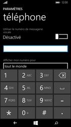 Microsoft Lumia 640 - Messagerie vocale - Configuration manuelle - Étape 8