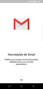 Samsung Galaxy S8 - E-mail - 032a. Email wizard - Gmail - Étape 5