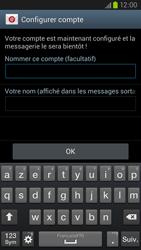 Samsung Galaxy S III LTE - E-mail - Configuration manuelle - Étape 16