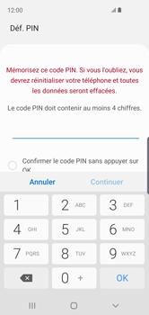 Samsung Galaxy S10e - Sécuriser votre mobile - Activer le code de verrouillage - Étape 7