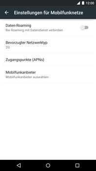 Motorola Google Nexus 6 - Netzwerk - Netzwerkeinstellungen ändern - Schritt 8