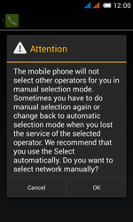 Alcatel One Touch Pop C3 - Network - manual network selection - Step 11