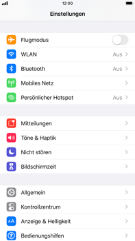 Apple iPhone 6s Plus - iOS 13 - Internet und Datenroaming - Manuelle Konfiguration - Schritt 3