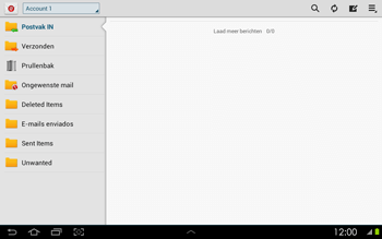 Samsung P5100 Galaxy Tab 2 10-1 - E-mail - Instellingen KPNMail controleren - Stap 12