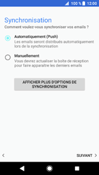 Sony Xperia XZ1 - E-mail - 032c. Email wizard - Outlook - Étape 13