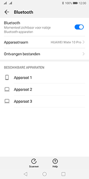 Huawei mate-10-pro-dual-sim-model-bla-l29-android-pie - Bluetooth - Aanzetten - Stap 5