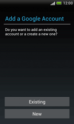 HTC Desire X - Applications - Setting up the application store - Step 5
