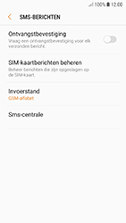 Samsung Galaxy A3 (2017) - Android Oreo - SMS - handmatig instellen - Stap 10