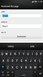 HTC One Mini - Internet - Internet browsing - Step 7