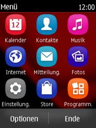 Nokia Asha 300 - SMS - Manuelle Konfiguration - 3 / 9
