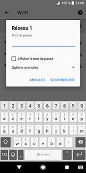 Sony Xperia XZ2 - Wifi - configuration manuelle - Étape 7