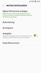 Samsung G390F Galaxy Xcover 4 - Anrufe - Rufumleitungen setzen und löschen - Schritt 7