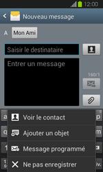Samsung I8730 Galaxy Express - MMS - Envoi d