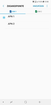 Samsung Galaxy A8 Plus (2018) - MMS - Manuelle Konfiguration - 18 / 29