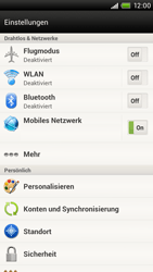 HTC One X - Internet - Apn-Einstellungen - 5 / 23