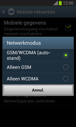 Samsung S7390 Galaxy Trend Lite - Netwerk - Wijzig netwerkmodus - Stap 7