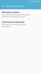 Samsung Samsung G920 Galaxy S6 (Android M) - Netwerk - Handmatig een netwerk selecteren - Stap 6