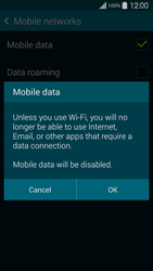 Samsung G900F Galaxy S5 - Internet - Disable mobile data - Step 7