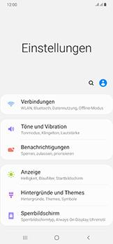 Samsung Galaxy A50 - Internet und Datenroaming - Prüfen, ob Datenkonnektivität aktiviert ist - Schritt 4