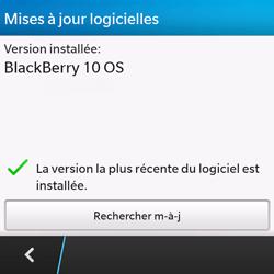 BlackBerry Q10 - Logiciels - Installation de mises à jour - Étape 6